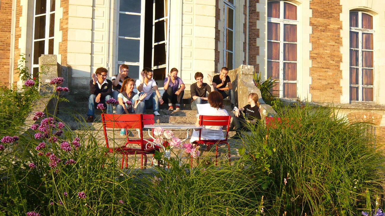 Stage anglais adolescent au châteaux des langues en france