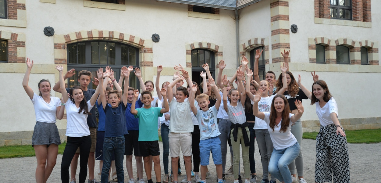 Châteaux des Langues - photo de groupe stage adolescents