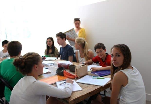 Châteaux des Langues - stage adolescents cours apprendre l'anglais en france