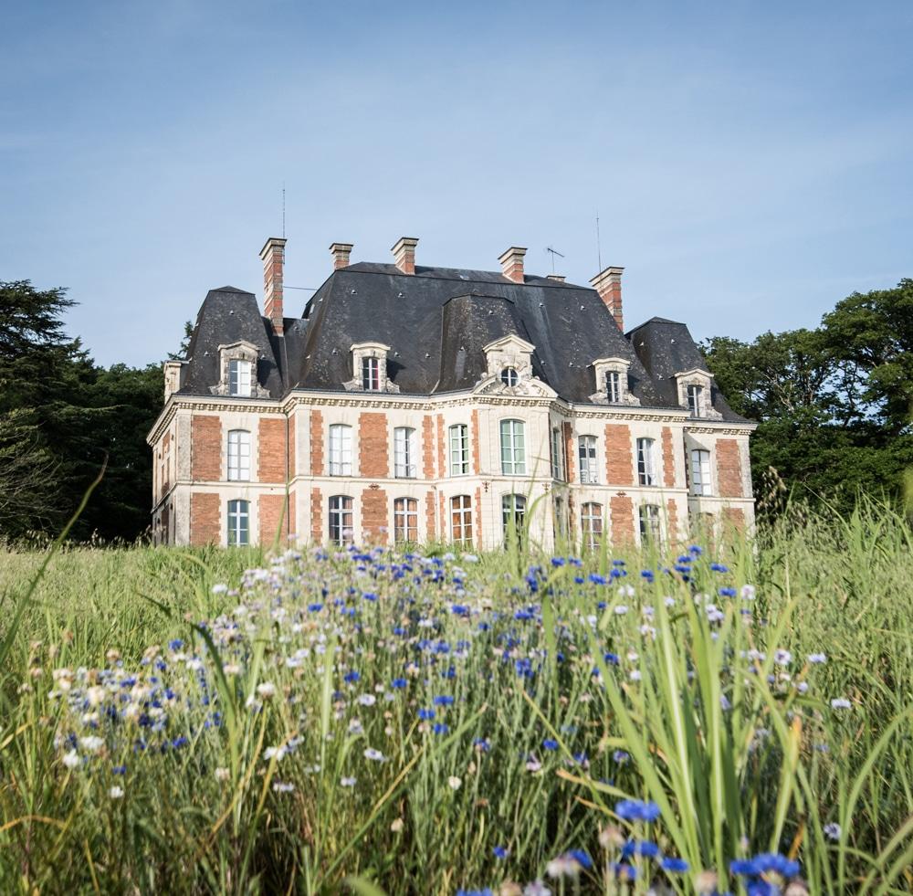 Château de la Mazure situé dans l'ouest de la France accueille le centre linguistique Châteaux des langues