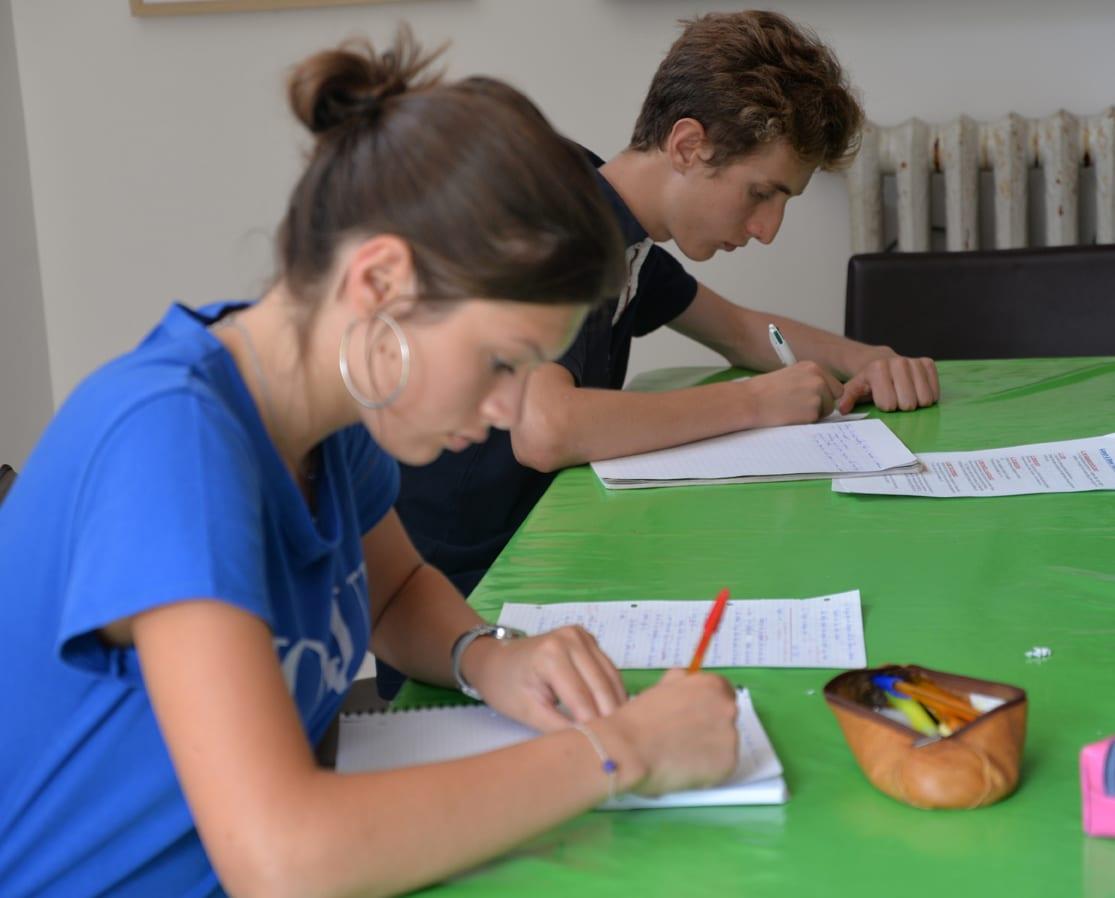 Châteaux des langues - stage d'anglais prépa bac pour adolescents en france