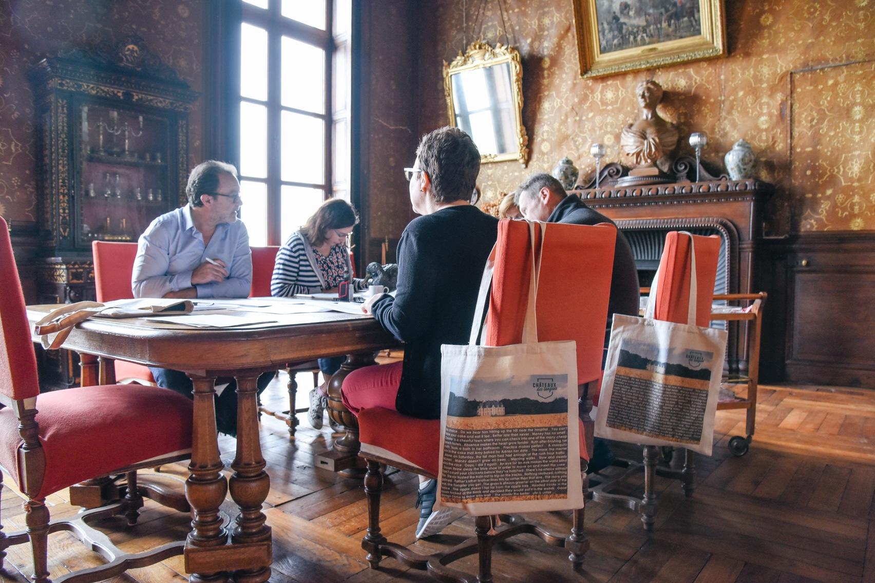 Châteaux des langues - immersions adultes en anglais pour professionnel en france
