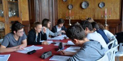 Châteaux des langues - stage d'anglais pour adolescents en France